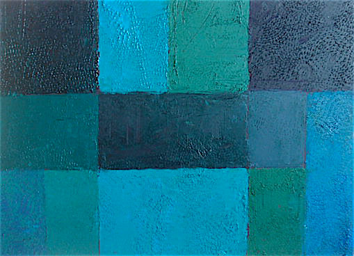 Composition in Blue 2015